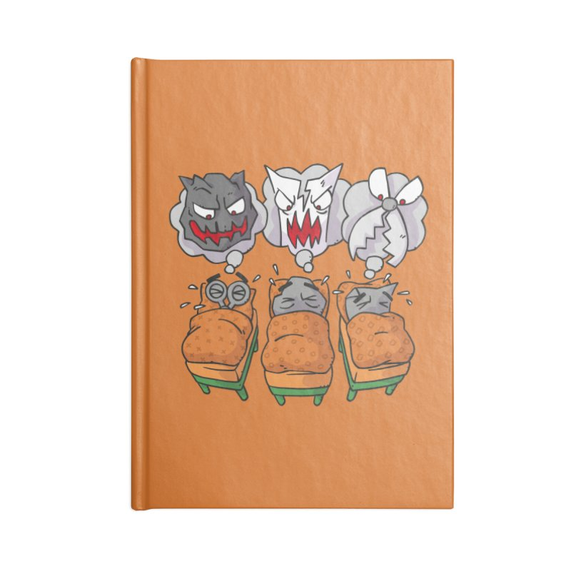 Scary Nights Accessories Blank Journal Notebook by Freehand