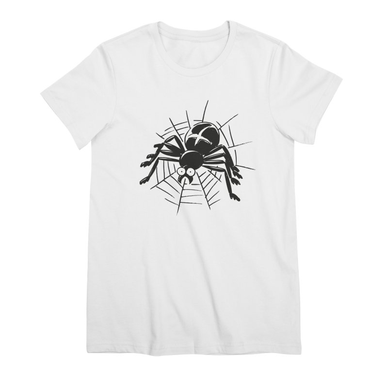 Spider Women's Premium T-Shirt by Freehand