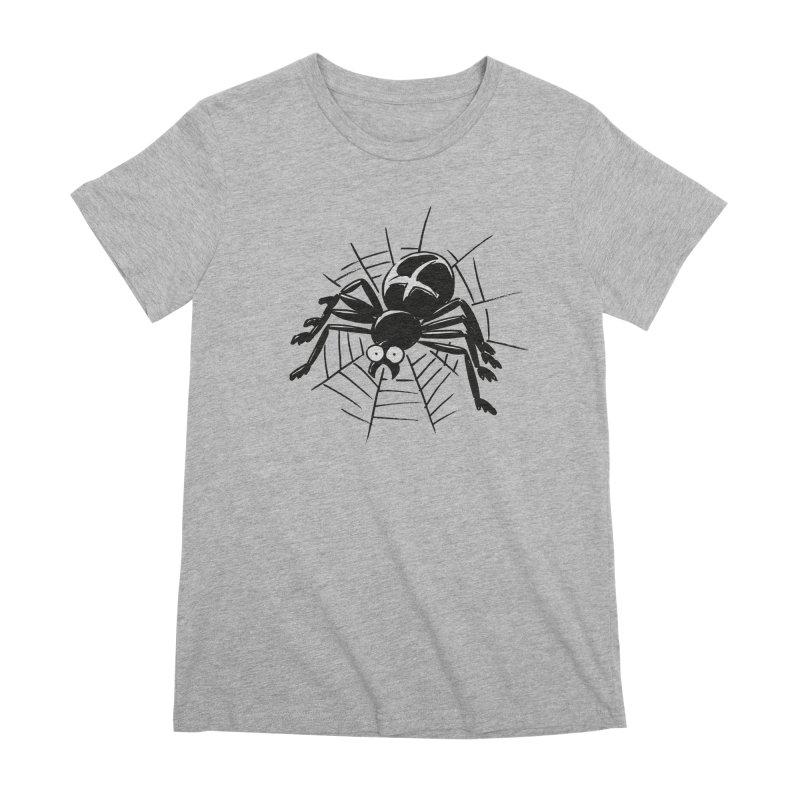 Spider Women's Premium T-Shirt by Freehand