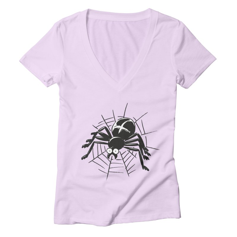 Spider Women's Deep V-Neck V-Neck by Freehand