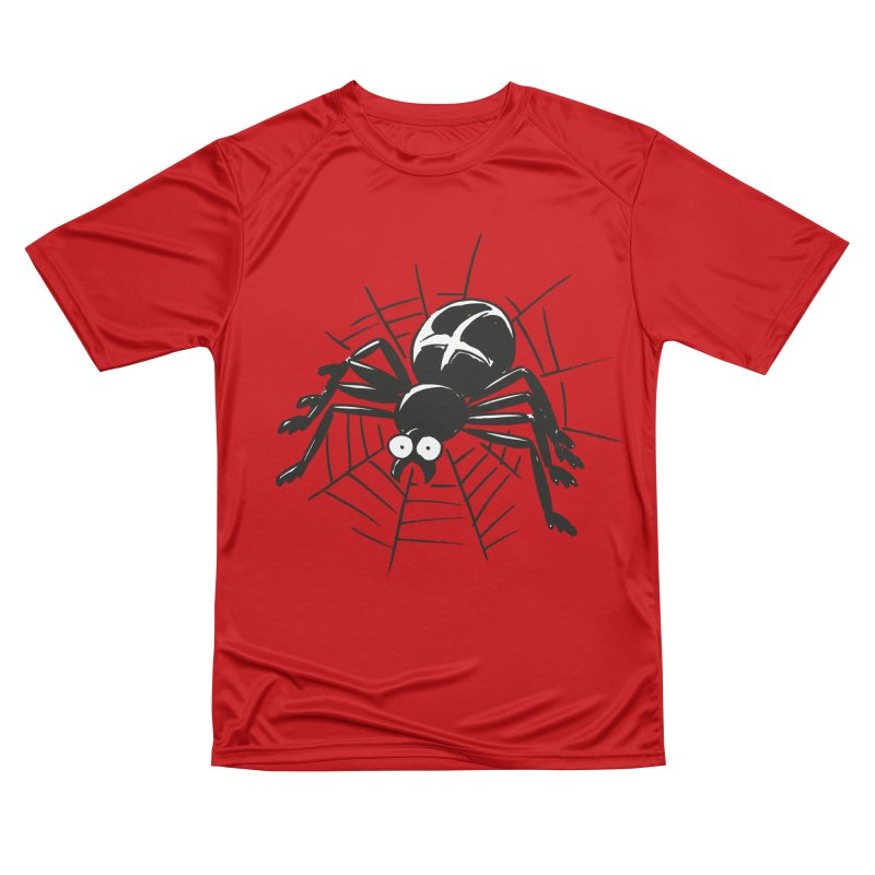 Spider Women's Performance Unisex T-Shirt by Freehand