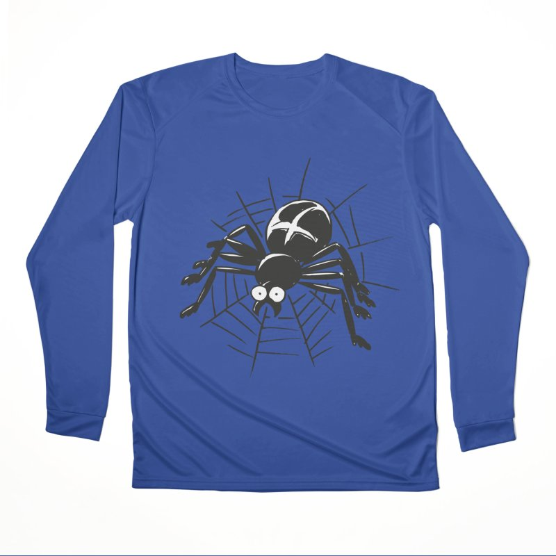 Spider Men's Performance Longsleeve T-Shirt by Freehand