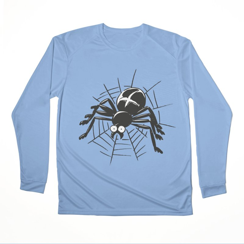 Spider Women's Performance Unisex Longsleeve T-Shirt by Freehand