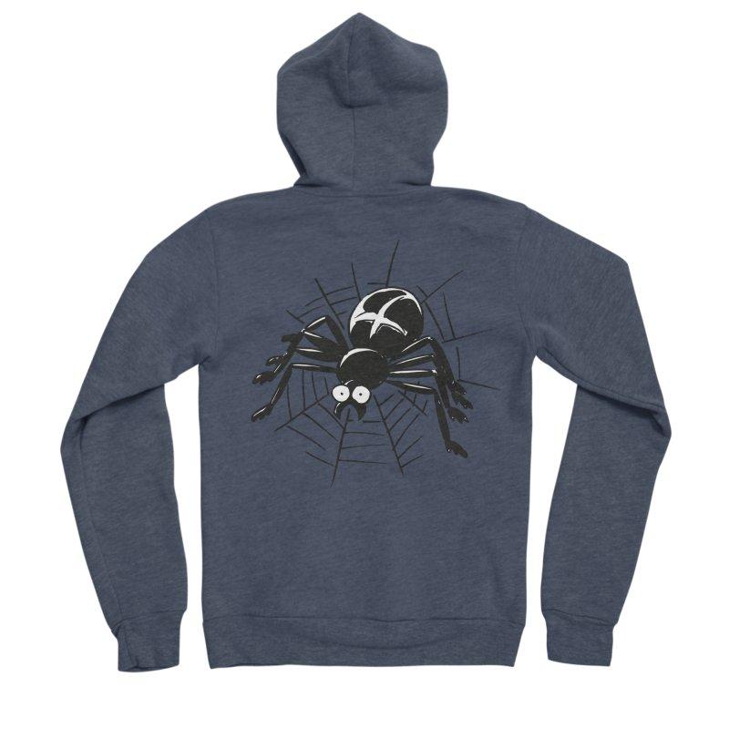 Spider Women's Sponge Fleece Zip-Up Hoody by Freehand