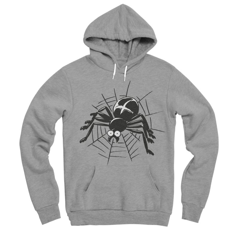 Spider Women's Sponge Fleece Pullover Hoody by Freehand