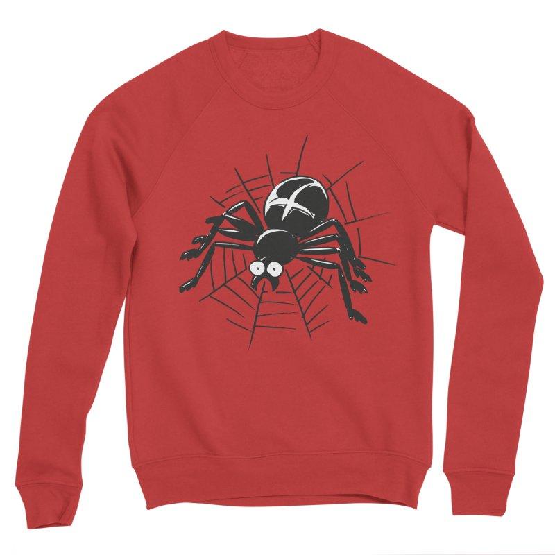 Spider Men's Sponge Fleece Sweatshirt by Freehand