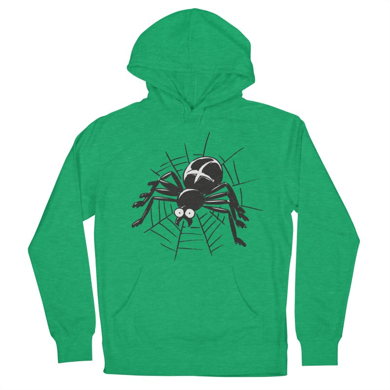 Spider Women's French Terry Pullover Hoody by Freehand