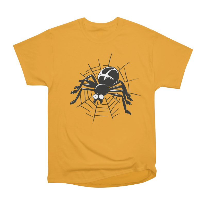 Spider Men's Heavyweight T-Shirt by Freehand