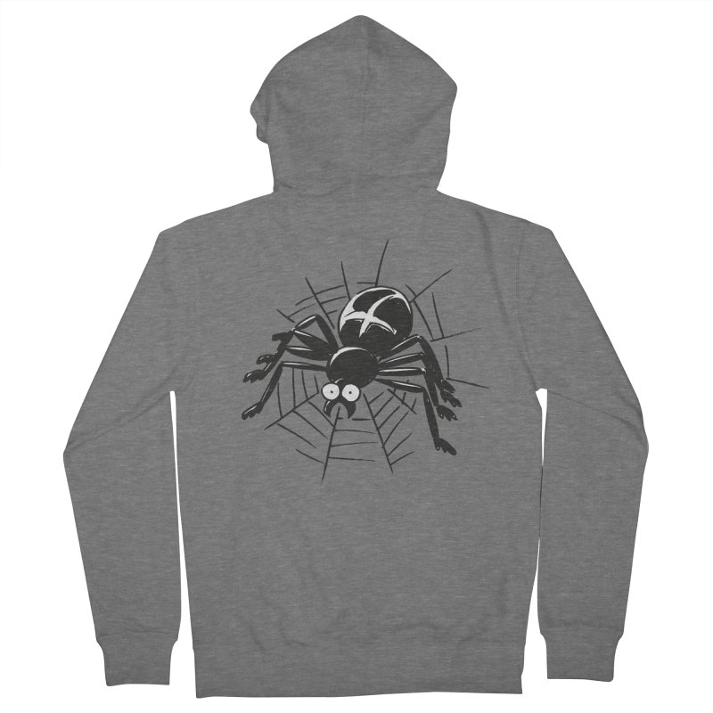 Spider Men's French Terry Zip-Up Hoody by Freehand