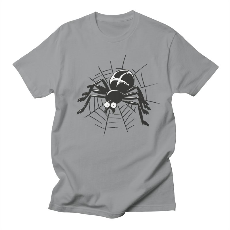 Spider in Men's Regular T-Shirt Slate by Freehand