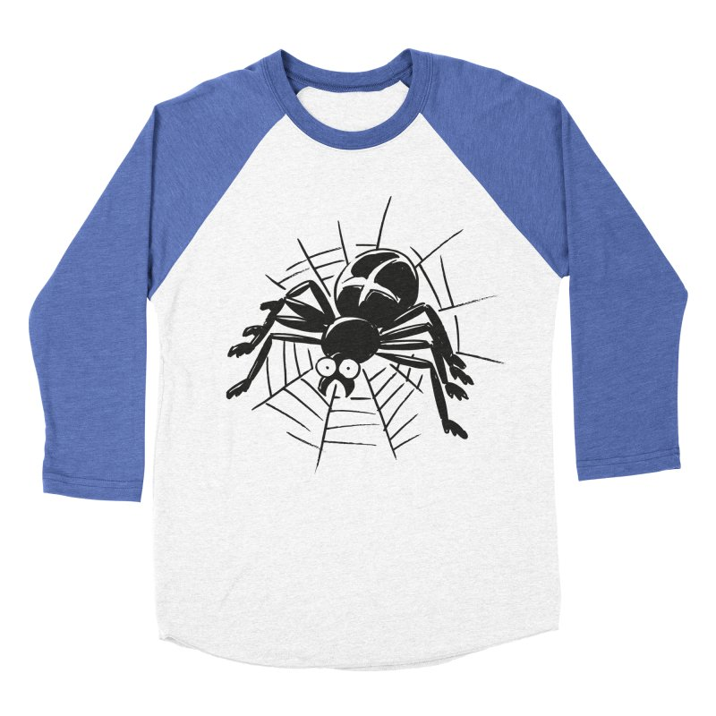 Spider Men's Baseball Triblend Longsleeve T-Shirt by Freehand