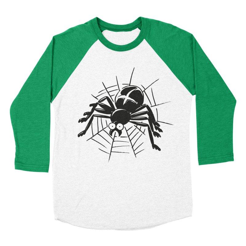 Spider Men's Baseball Triblend Longsleeve T-Shirt by Freehand