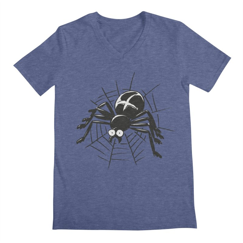 Spider Men's Regular V-Neck by Freehand