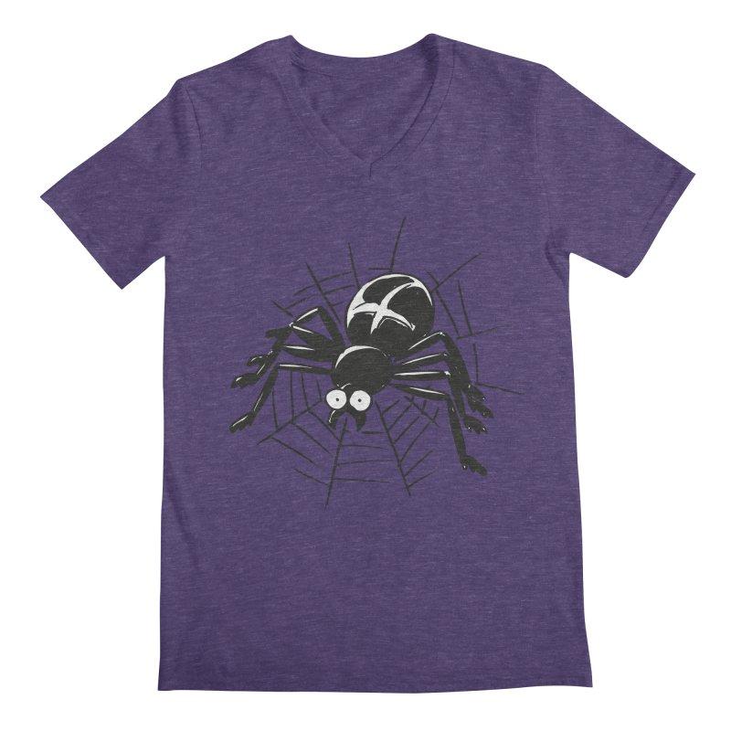 Spider Men's Regular V-Neck by Freehand