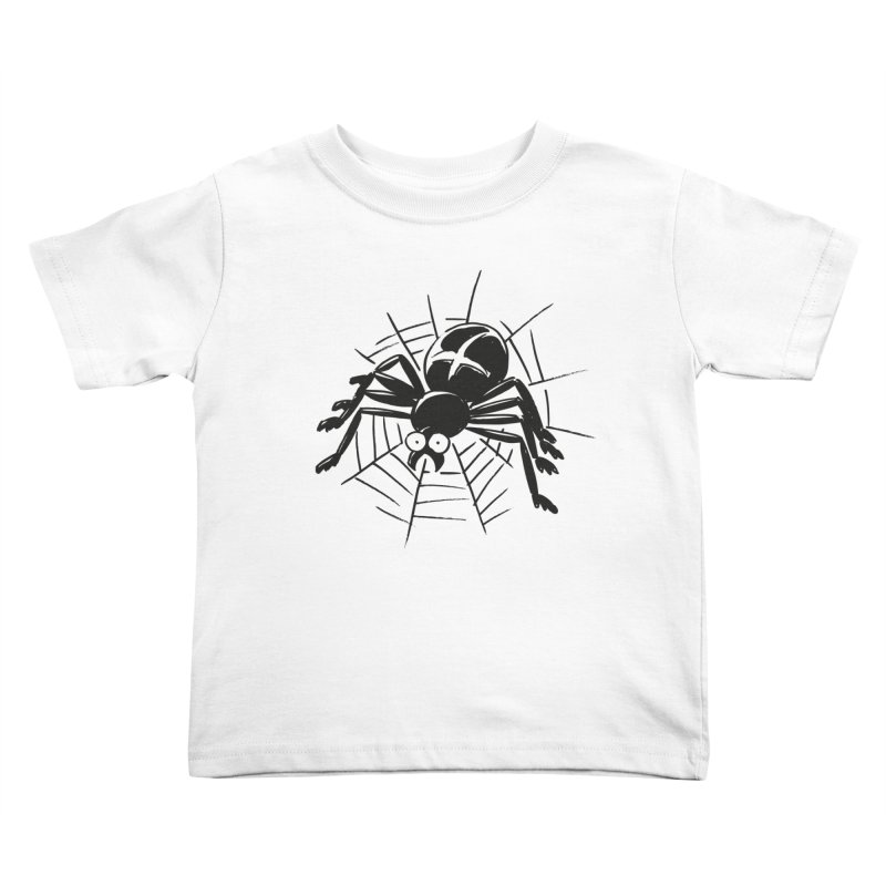 Spider Kids Toddler T-Shirt by Freehand