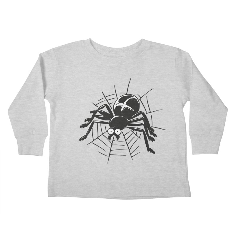 Spider Kids Toddler Longsleeve T-Shirt by Freehand
