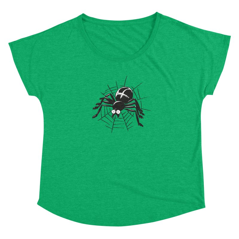 Spider Women's Dolman Scoop Neck by Freehand