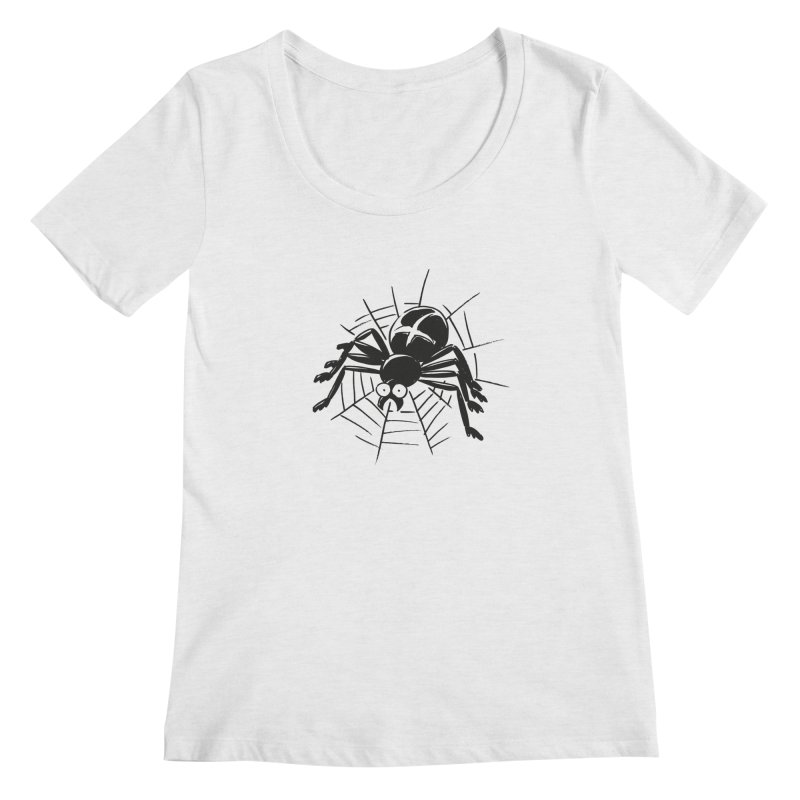 Spider Women's Regular Scoop Neck by Freehand