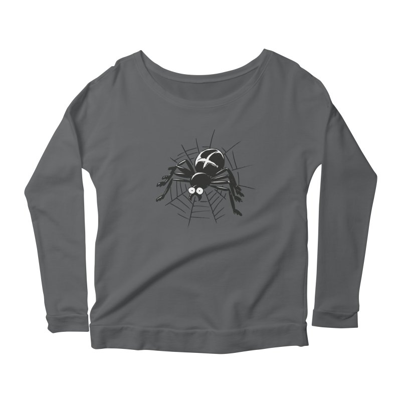 Spider Women's Scoop Neck Longsleeve T-Shirt by Freehand