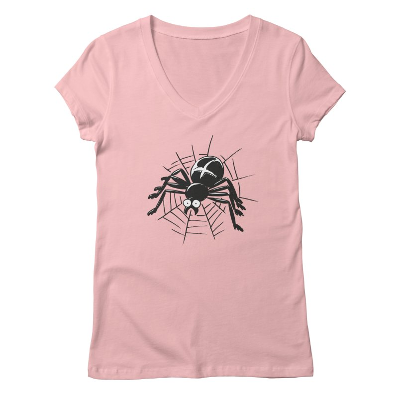 Spider Women's V-Neck by Freehand