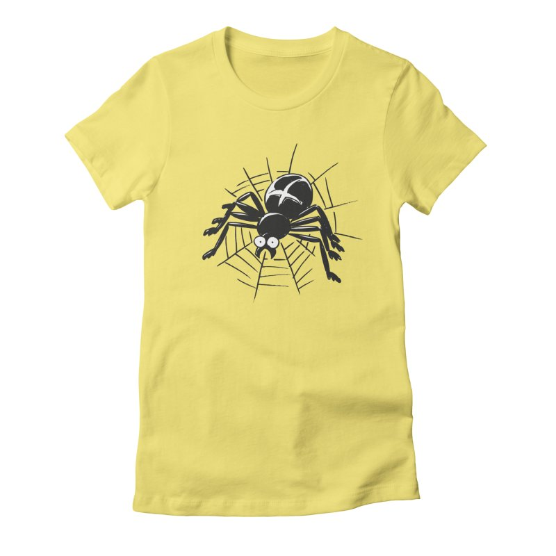 Spider Women's Fitted T-Shirt by Freehand