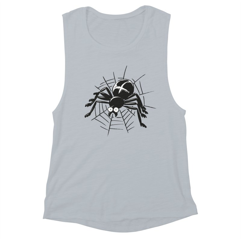 Spider Women's Muscle Tank by Freehand