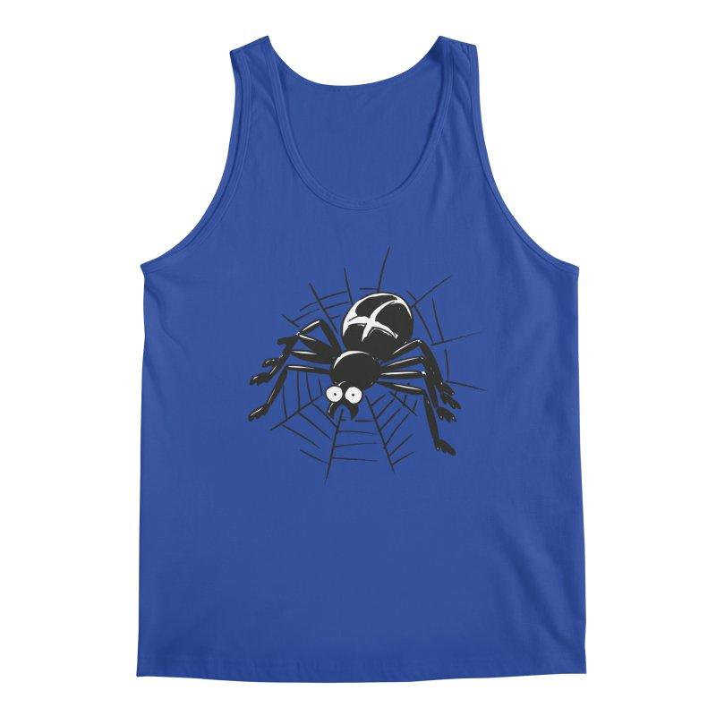 Spider Men's Regular Tank by Freehand