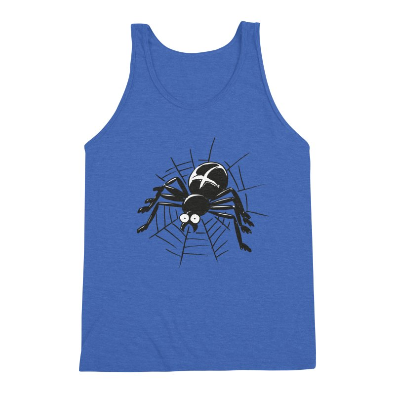 Spider Men's Triblend Tank by Freehand