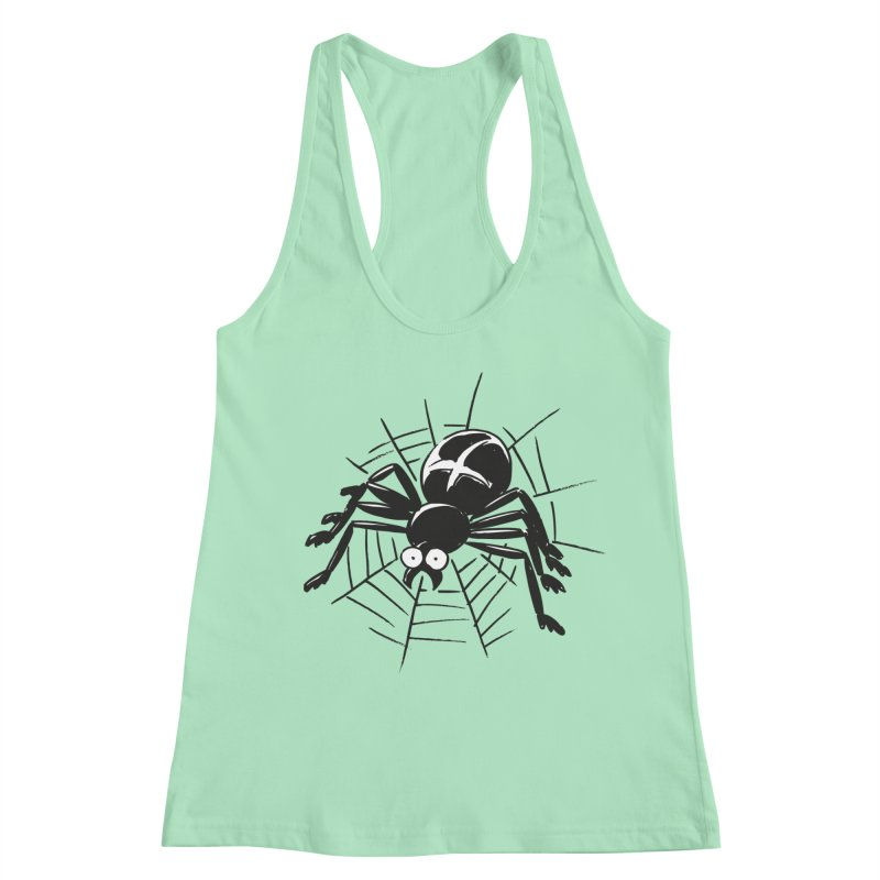 Spider Women's Racerback Tank by Freehand