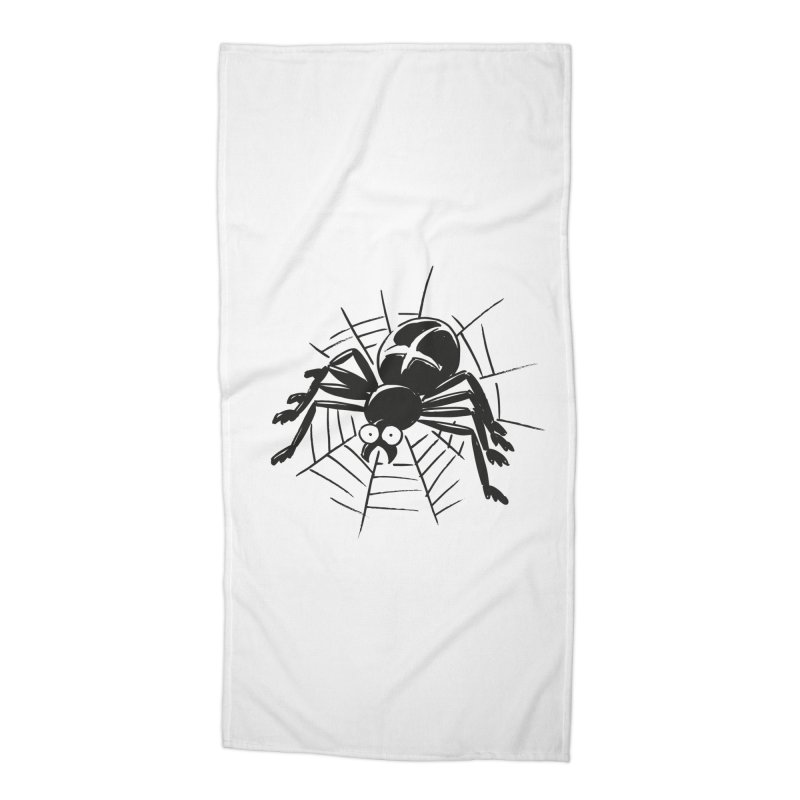 Spider Accessories Beach Towel by Freehand
