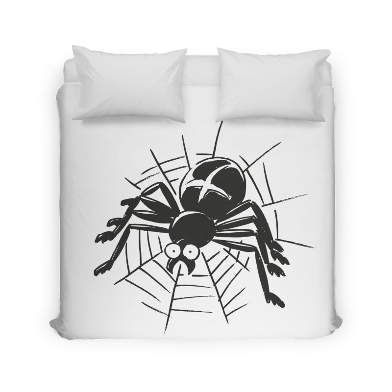Spider Home Duvet by Freehand