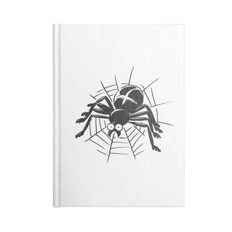Spider Accessories Blank Journal Notebook by Freehand