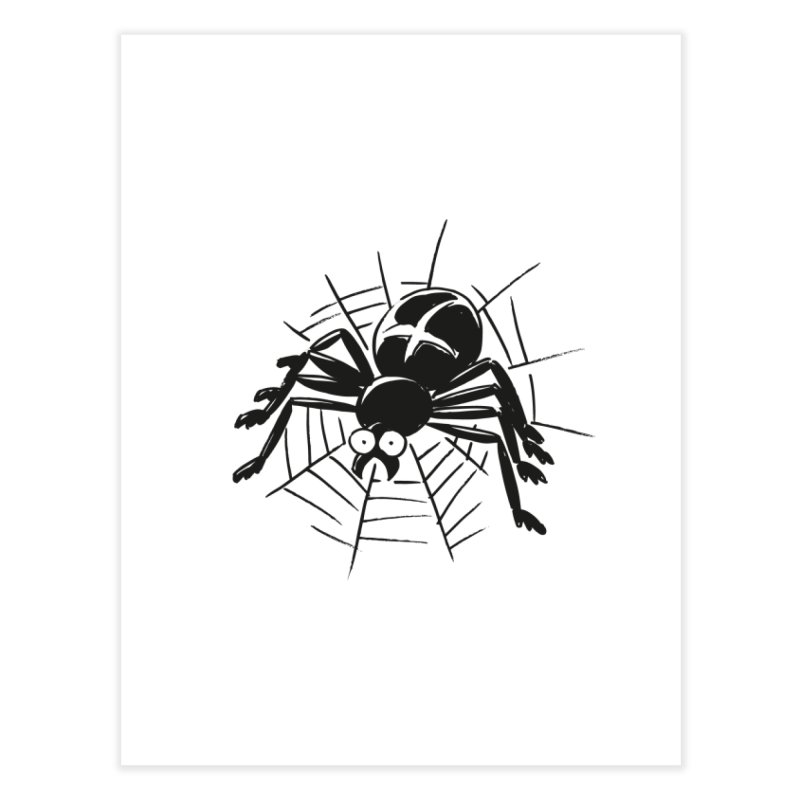 Spider Home Fine Art Print by Freehand