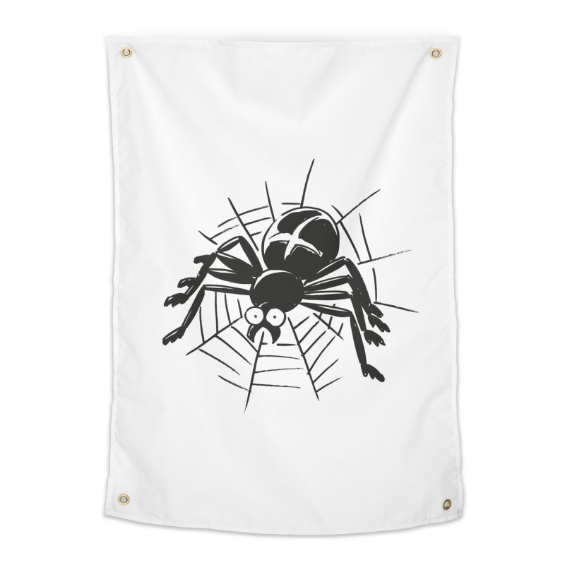 Spider Home Tapestry by Freehand