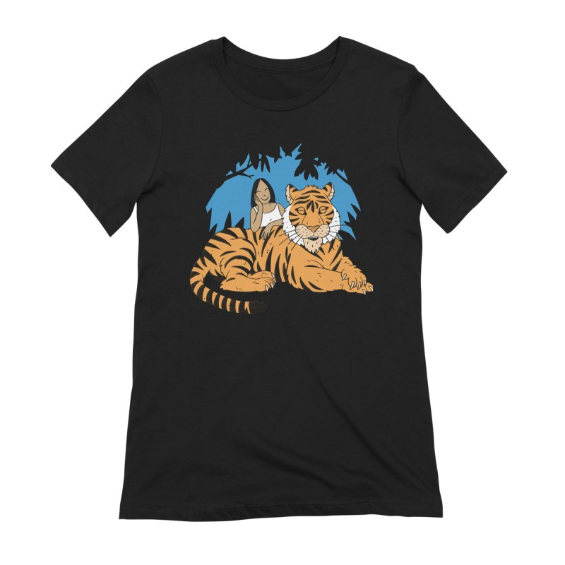 Pet Tiger Women's Extra Soft T-Shirt by Freehand