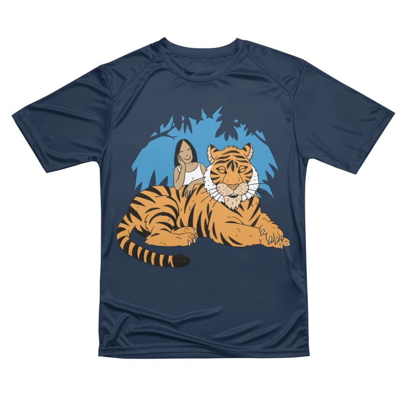 Pet Tiger Men's Performance T-Shirt by Freehand