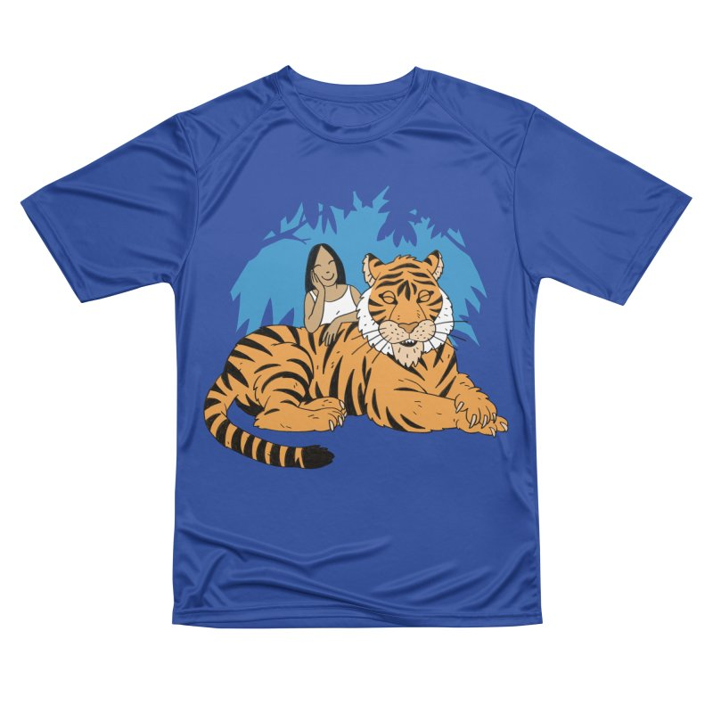 Pet Tiger Women's Performance Unisex T-Shirt by Freehand