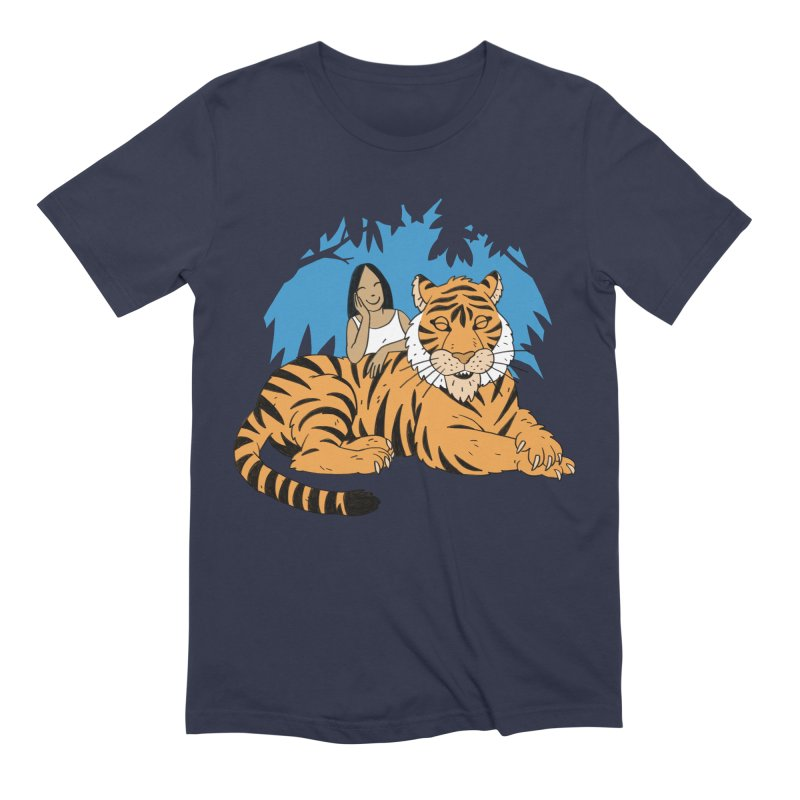 Pet Tiger Men's Extra Soft T-Shirt by Freehand