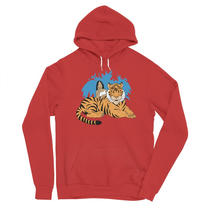 Pet Tiger Men's Pullover Hoody by Freehand
