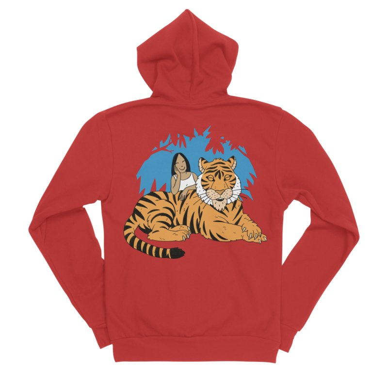 Pet Tiger Men's Zip-Up Hoody by Freehand
