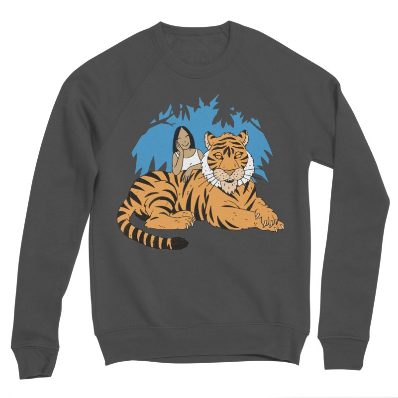 Pet Tiger Women's Sponge Fleece Sweatshirt by Freehand