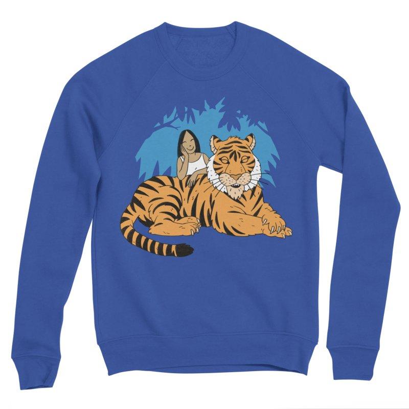 Pet Tiger Men's Sweatshirt by Freehand