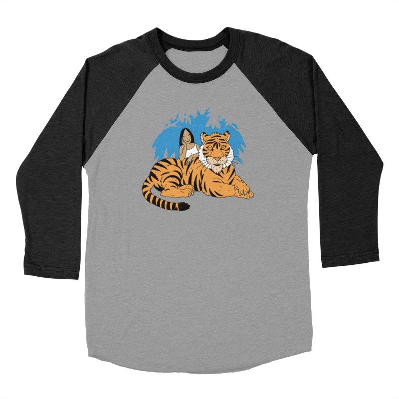 Pet Tiger Men's Longsleeve T-Shirt by Freehand