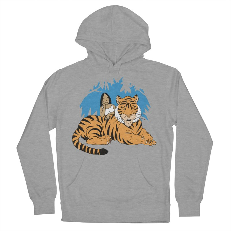 Pet Tiger Women's Pullover Hoody by Freehand