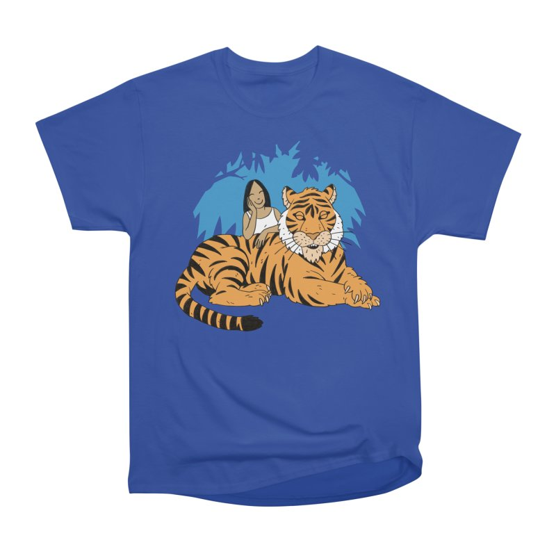 Pet Tiger Women's Heavyweight Unisex T-Shirt by Freehand