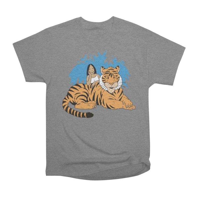 Pet Tiger Men's Heavyweight T-Shirt by Freehand