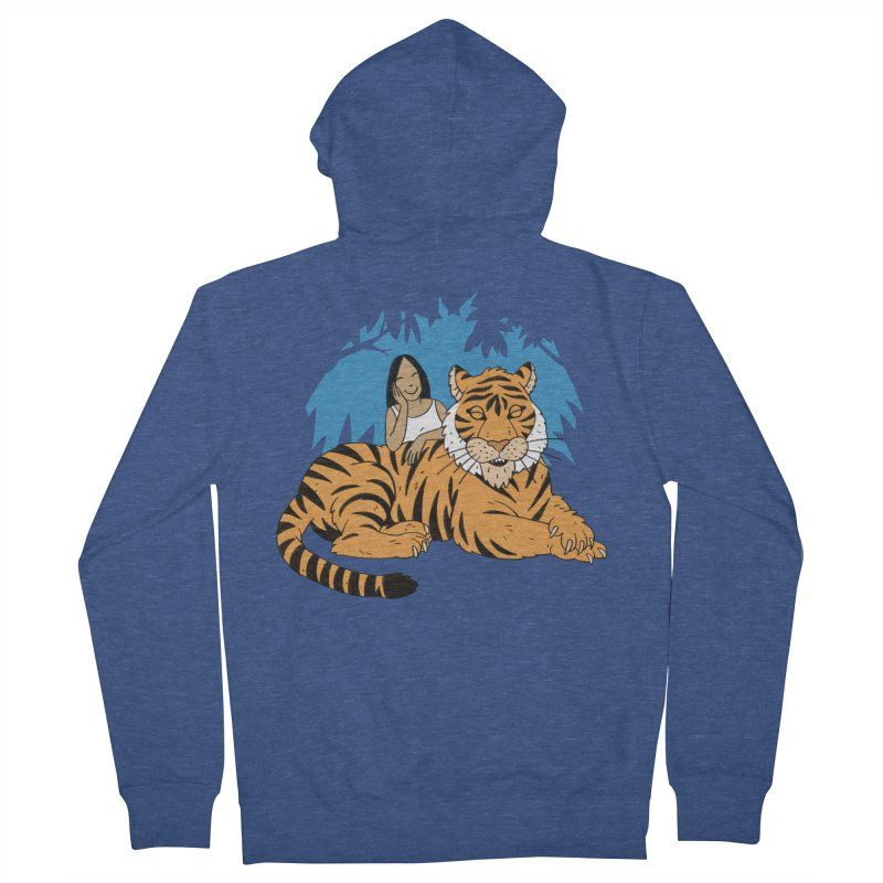 Pet Tiger Men's Zip-Up Hoody by Freehand