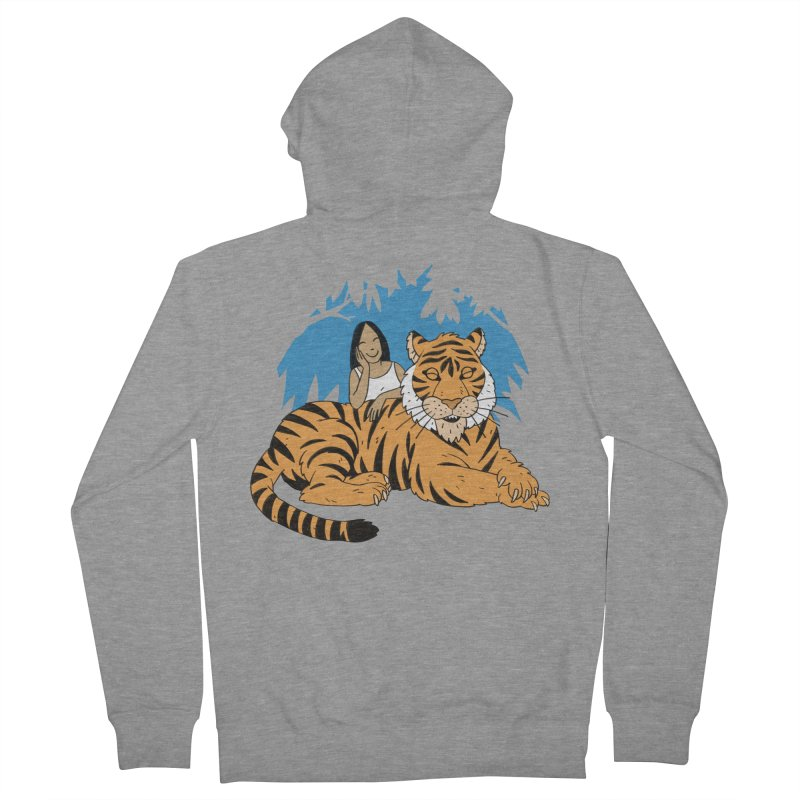 Pet Tiger Men's French Terry Zip-Up Hoody by Freehand