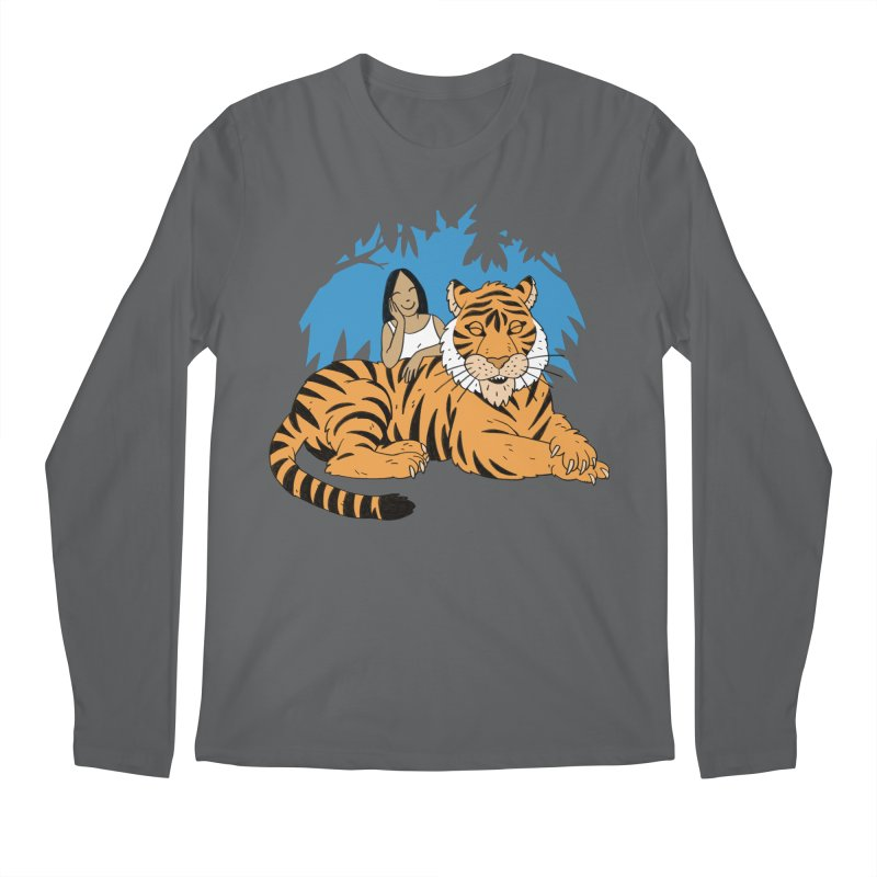 Pet Tiger Men's Longsleeve T-Shirt by Freehand