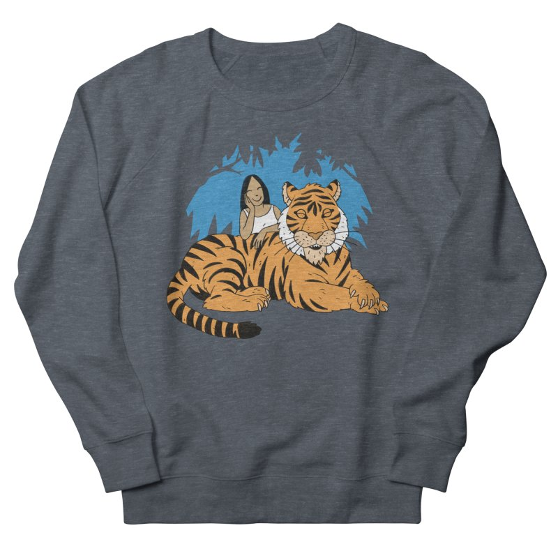 Pet Tiger Women's French Terry Sweatshirt by Freehand